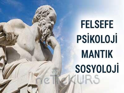 YGS LYS Felsefe Psikoloji Mantık Sosyoloji Dersleri