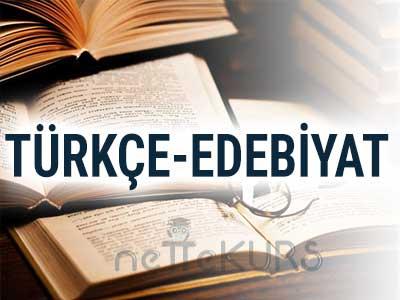 YGS-LYS Türkçe-Edebiyat Dersleri