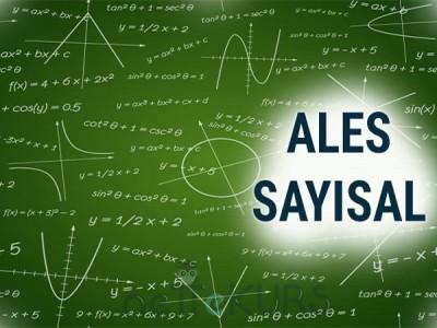 2020 Ağustos ALES Sayısal Dersleri
