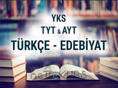 2020 - 2021 YKS - TYT  AYT Türkçe-Edebiyat Dersleri