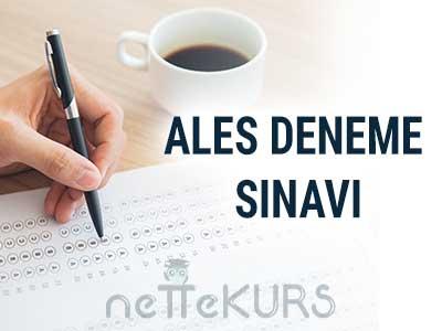 ALES 10 Online Deneme Sınavı, Sonuç, Puan Hesaplama ve Konu Anlatımlı Çözümler
