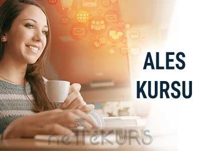 2018 İlkbahar ALES Online Kursu