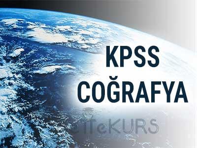 2018 KPSS GYGK COĞRAFYA
