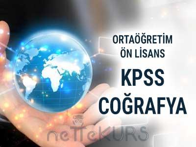 2018 KPSS ORTAÖĞRETİM - ÖN LİSANS GYGK COĞRAFYA CANLI DERS