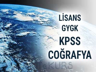 2019 KPSS GYGK COĞRAFYA CANLI DERS