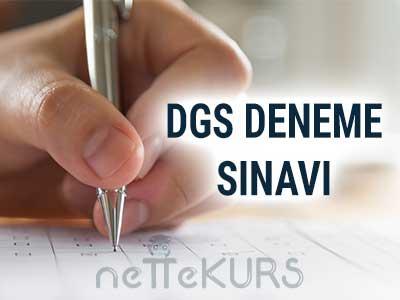 DGS 5 Adet Online Deneme Sınavı<br><br>