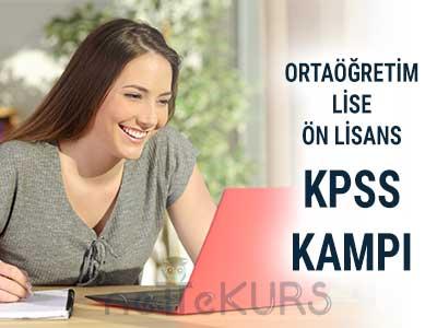 2019 - 2020 KPSS Ön Lisans Ortaöğretim Kampı Canlı Ders
