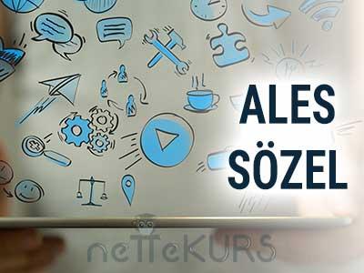 2019 İlkbahar ALES Sözel Canlı Ders (e - ders)