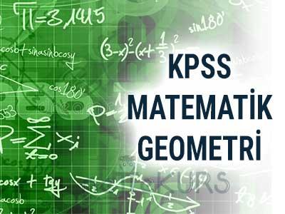 2018 KPSS GYGK MATEMATİK - GEOMETRİ