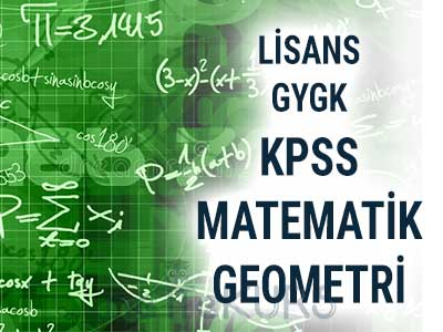 2020 KPSS GYGK Matematik - Geometri CanIı Ders