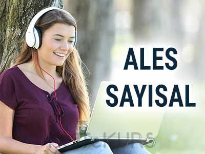 2018 İlkbahar ALES Sayısal Dersleri