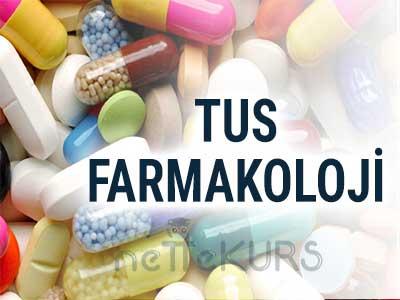 2018 TUS Farmakoloji