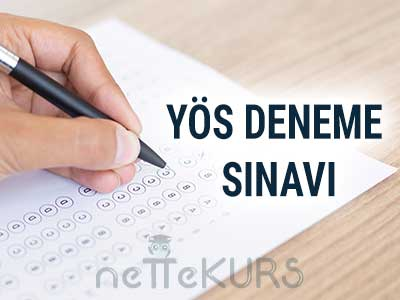 YÖS 20 Adet Online Deneme Sınavı