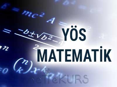 2018 YÖS Matematik Dersleri