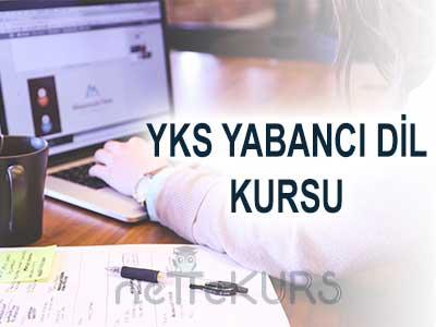 2018 YKS - YDT Yabanci Dil Online Kursu