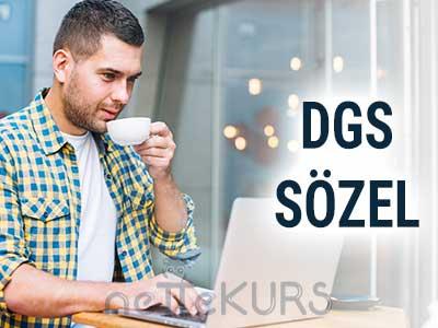 DGS Sözel Dersleri