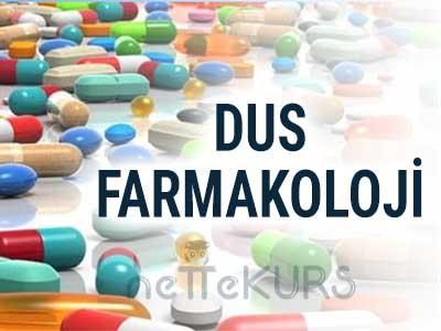 DUS Tıbbi Farmakoloji Dersleri