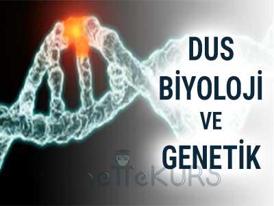 DUS Tıbbi Biyoloji ve Genetik Dersleri