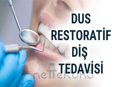 DUS Restoratif Diş Tedavisi Dersleri