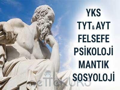 2019 - 2020 YKS - TYT AYT Felsefe Dersleri