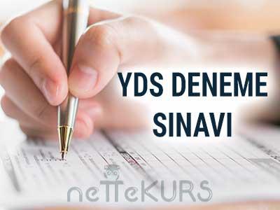 YDS 4 Adet Online Deneme Sınavı